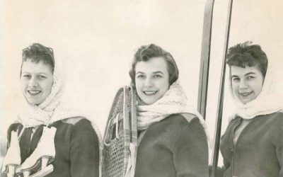 Winter Sports on display at the North Peace Museum